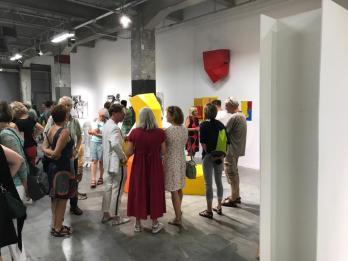 Opening reception juli 2019